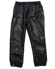 LRG - HONORARY PU/FLEECE JOGGERS (4-7)