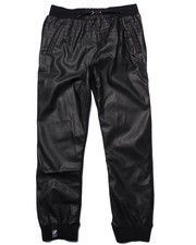 LRG - HONORARY PU/FLEECE JOGGERS (8-20)