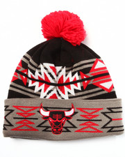 Men - Chicago Bulls NBA HWC Geotech Cuffed Pom Knit