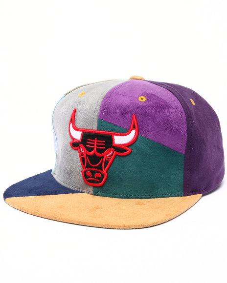 Mitchell & Ness Men Chicago Bulls 2 Hwc The Craze Cut & Sew Snapback Multi