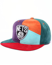 Men - Brooklyn Nets NBA Current The Craze Cut & Sew Snapback