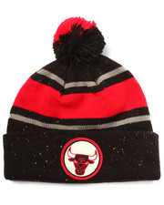 Men - Chicago Bulls NBA Vintage Speckled Cuffed Pom Knit Hat