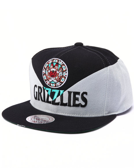 Mitchell & Ness Men Vancouver Grizzlies Amplify Diamond Cut & Sew Multi