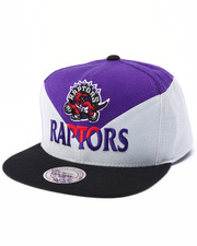 Men - Toronto Raptors Amplify Diamond Cut & Sew Snapback Hat