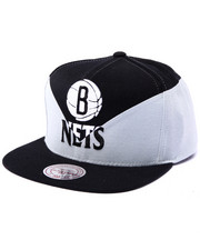 Men - Brooklyn Nets NBA Current Amplify Diamond Cut & Sew Snapback