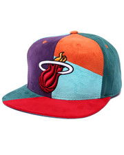 Men - Miami Heat NBA Current The Craze Cut & Sew Snapback