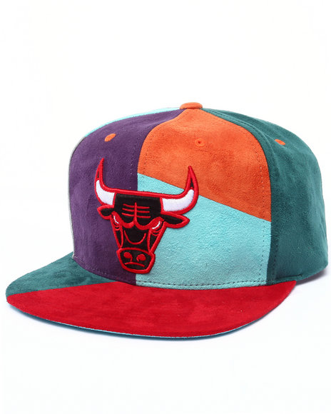 Ur-ID 222984 Mitchell & Ness - Men Multi Chicago Bulls Hwc The Craze Cut & Sew Snapback