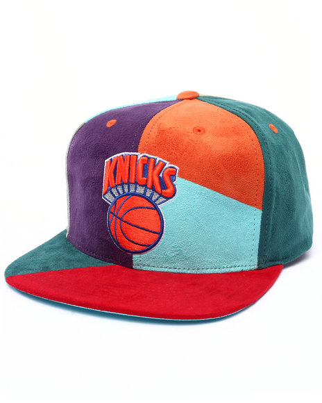 Ur-ID 222985 Mitchell & Ness - Men Multi New York Knicks Hwc The Craze Cut & Sew Snapback