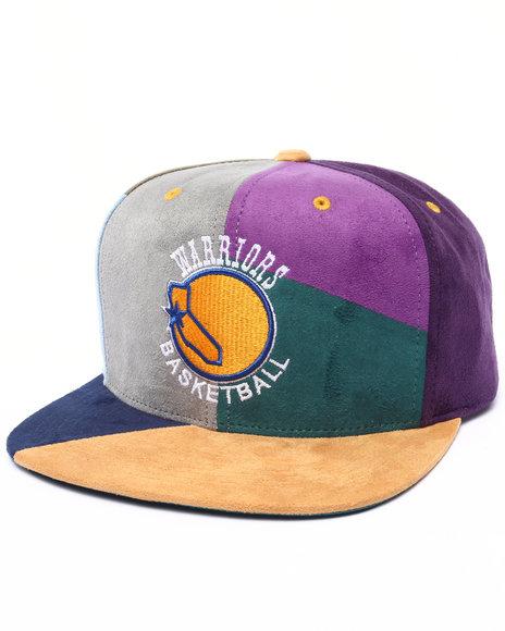 Ur-ID 222986 Mitchell & Ness - Men Multi San Francisco Warriors Hwc The Craze Cut & Sew Snapback