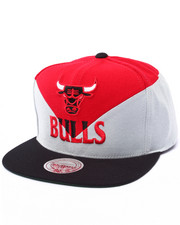 Men - Chicago Bulls Amplify Diamond Cut & Sew Snapback Hat