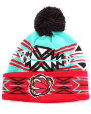 Men - Vancouver Grizzlies NBA HWC Geotech Cuffed Pom Knit