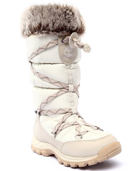Timberland - Women White Chillberg Waterproof Insulated Boots