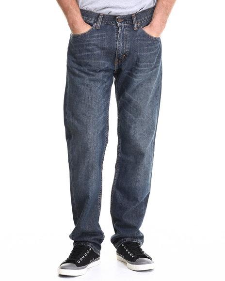 Ur-ID 213534 Levi's - Men Medium Wash 505 Regular Fit Range Jean