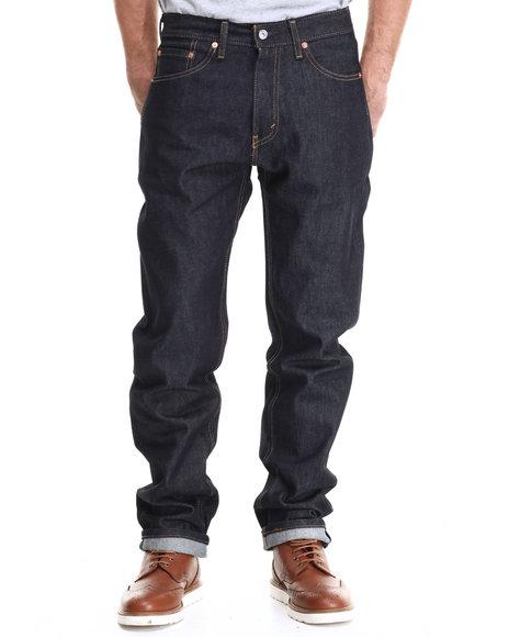 Levi's - Men Raw Wash 505 Regular Fit Rigid Jean