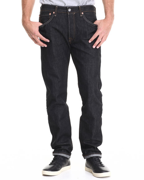Levi's - Men Black 501 Original Fit Iconic Black Jean