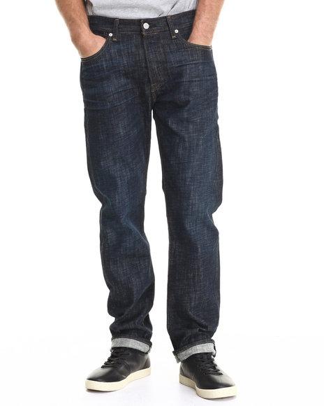 Levi's - Men Dark Blue 501 Original Fit Tidal Blue Jean
