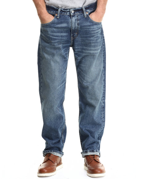 Levi's - Men Medium Wash 569 Relaxed Fit Carry On Jean