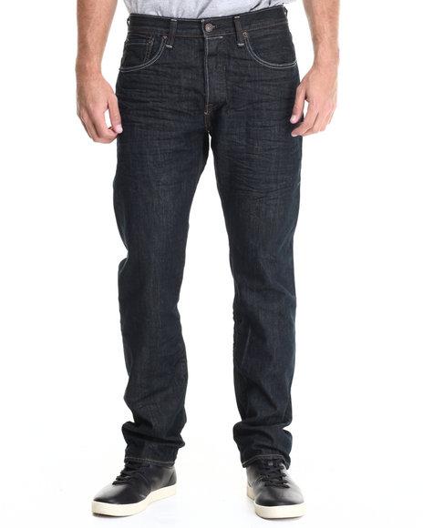 Levi's - Men Dark Wash 501 Original Fit Dimensional Rigid Jean