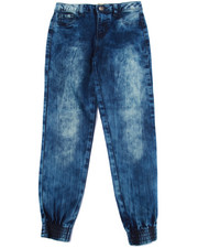 Bottoms - DENIM JOGGGERS (7-16)
