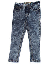Bottoms - JESSICA SKINNY ZIPPER ANKLE JEANS (2T-4T)