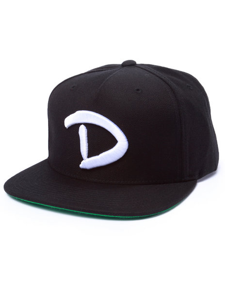 Diamond Supply Co Men Og D Snapback Cap Black
