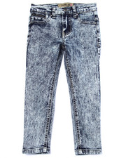 Bottoms - JESSICA SKINNY ZIPPER ANKLE JEANS (4-6X)