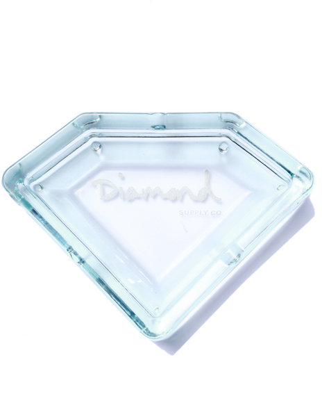 Diamond Supply Co Men Diamond Ashtray Clear