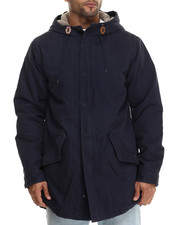 The Skate Shop - Stimulus II Sherpa Lined Twill Jacket