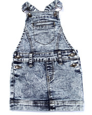 Bottoms - ACID WASH SKIRT-ALL (4-6X)