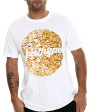 Men - Liquid Gold Circle S/S Tee
