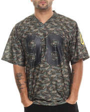 The Skate Shop - Tonal Camo Football Jersey