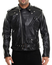Leather Jackets - American Rider Faux Leather Jacket