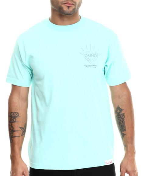 Diamond Supply Co - Men Teal Brilliant Tee