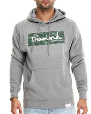 The Skate Shop - Tonal Camo Box Logo Pullover Hoodie