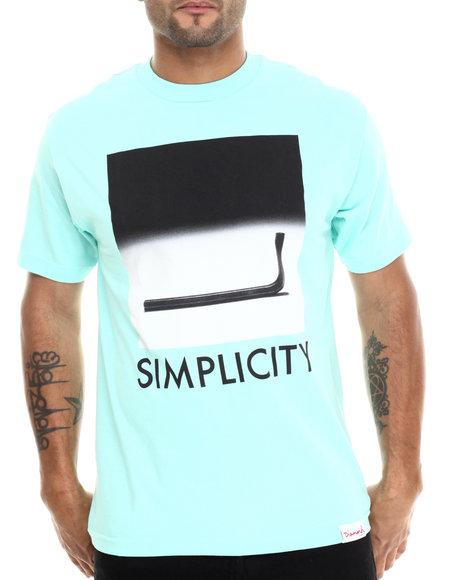 Diamond Supply Co - Men Teal Simplicity Tee
