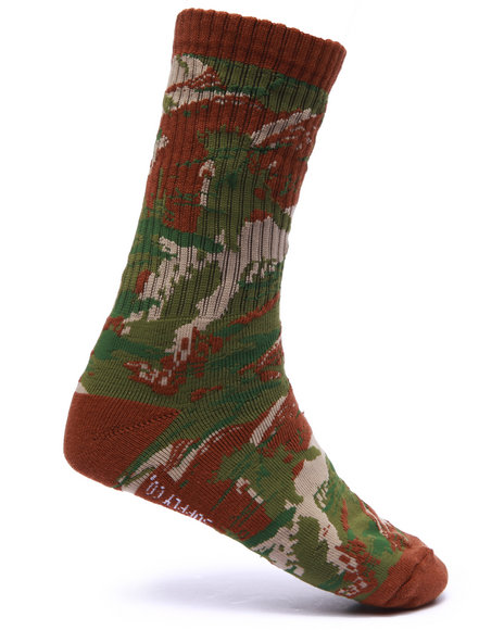 Diamond Supply Co Men O G Script High Socks Camo - $12.99