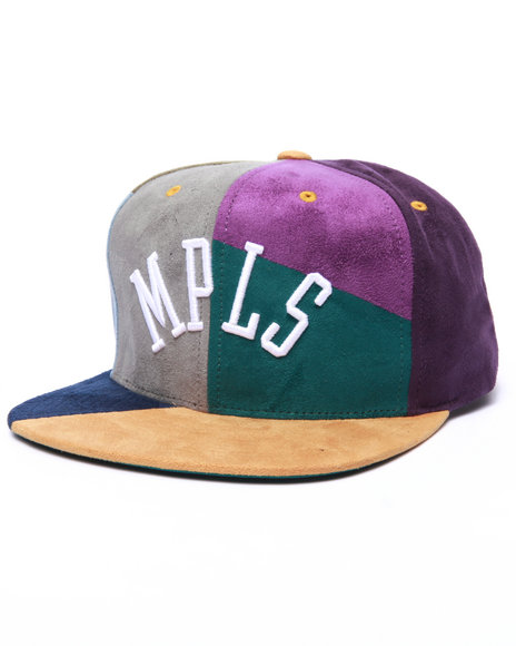 Ur-ID 223000 Mitchell & Ness - Men Multi The Mpls Hwc The Craze Cut & Sew Snapback