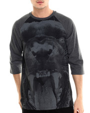 Men - Panther Raglan Tee