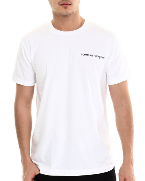 Ur-ID 213621 SSUR - Men White The Cut C D F D Low Key Tee