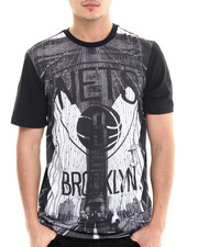NBA, MLB, NFL Gear - Brooklyn Skyline Sublimation S/S Tee