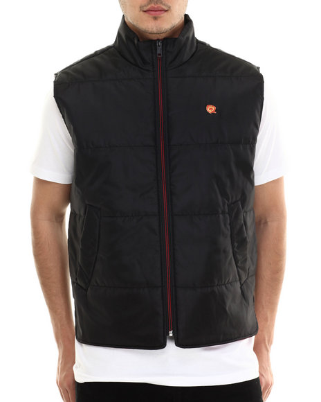 Rocawear - Men Black,Red Layer-Up Vest