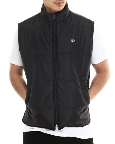 Ur-ID 213638 Rocawear - Men Black Layer-Up Vest
