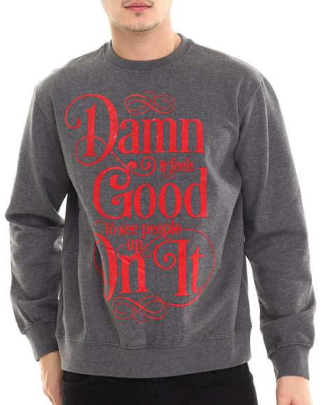 Rocawear - Men Grey Feels Good Sweatshirt