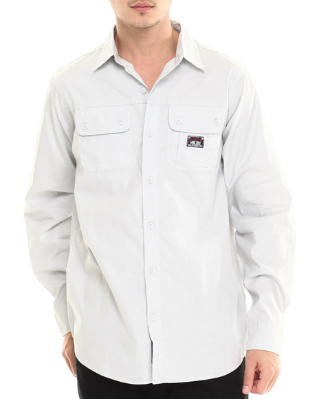 Rocawear Grey Button-Downs