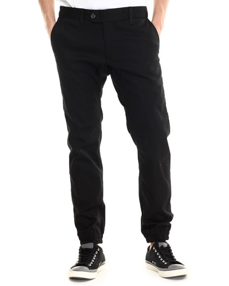 Diamond Supply Co - Men Black Diamond Mined Slim Fit Jogger Pants