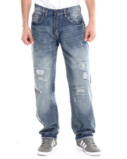 Jeans - Badge Classic Fit Jeans