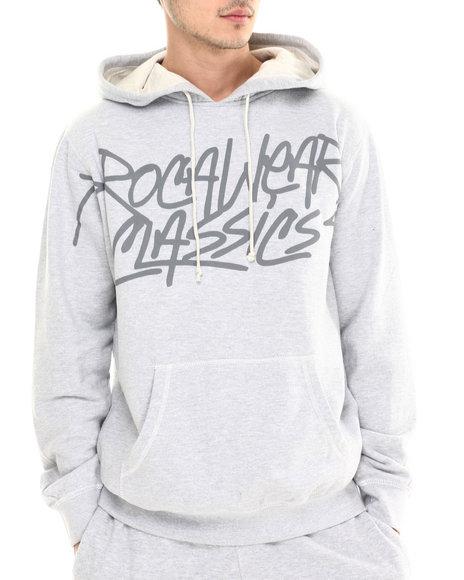 Rocawear - Men Grey Classics Pullover Hoodie