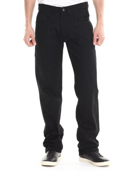 Rocawear - Men Black R Script Denim Jeans