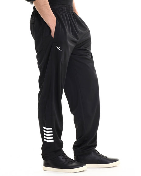 Rocawear - Men Black Striped Leg Pants