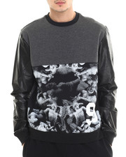 Rocawear - Blocked Crew Fleece Sweatshirt